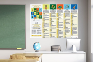 Cover image: Free 2020-21 Wall Planner