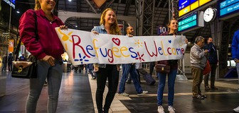 Cover image: Refugees welcome?