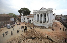 Cover image: Earthquake in Nepal