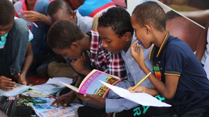Cover image: International Literacy Day