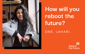 Cover image: How Will You Reboot the Future? - Lahari