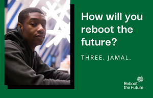 Cover image: How Will You Reboot the Future? - Jamal