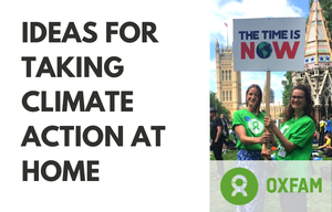 Cover image: Ideas for taking climate action at home
