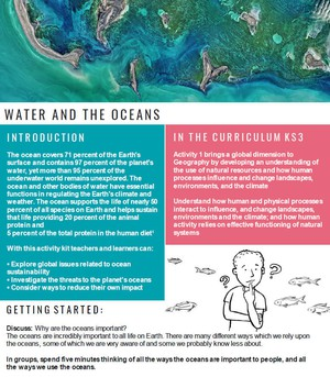 Cover image: Water and the Oceans