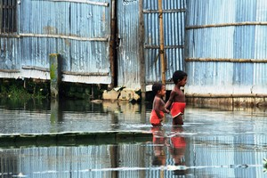 Cover image: Climate Change in Urban Areas: Bangladesh Case Study