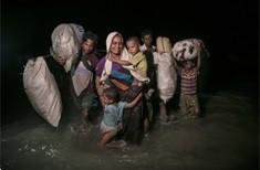 Cover image: Fleeing violence in Myanmar