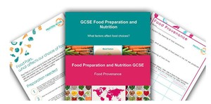 Cover image: Food Preparation and Nutrition - GCSE