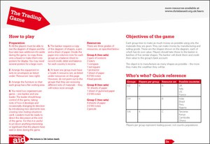 Cover image: The Trading Game
