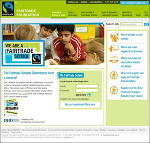 Cover image: Fairtrade Schools Award