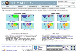 Cover image: Worldmapper