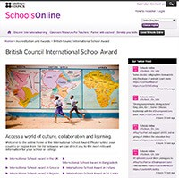 Cover image: British Council International School Award