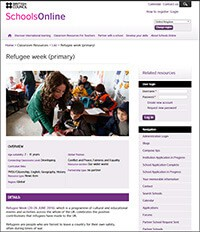 Cover image: Refugee Week resources