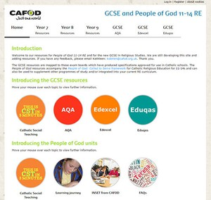 Cover image: CAFOD resources for GCSE Religious Studies