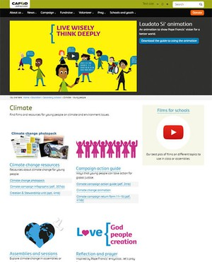 Cover image: CAFOD Climate Change Resources (Secondary)