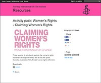 Cover image: Women's Rights