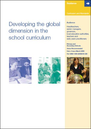 Cover image: Developing the Global Dimension in the School Curriculum