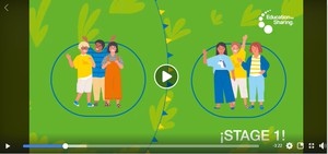 Cover image: Virus infection prevention game - Education for Sharing (Educación para Compartir)