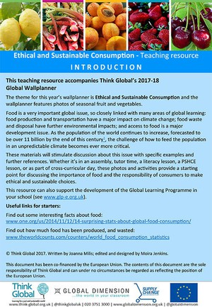 Cover image: Ethical and Sustainable Consumption