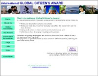 Cover image: International Global Citizen's Award