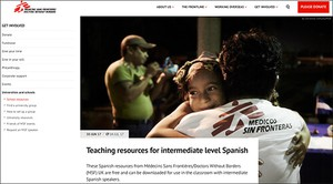 Cover image: Médecins Sans Frontières intermediate level Spanish resource