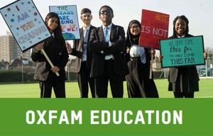 Cover image: Oxfam Education website