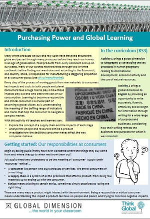 Cover image: Purchasing Power and Global Learning