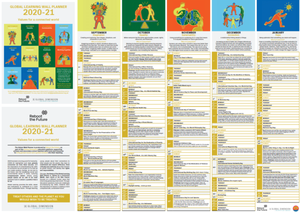 Cover image: Global Learning Wallplanner 2020-21 - PDF
