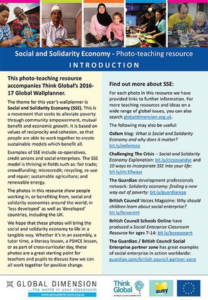 Cover image: Social and Solidarity Economy