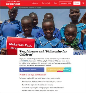 Cover image: Tax, Fairness and 'Philosophy for Children'
