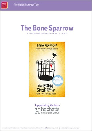 Cover image: The Bone Sparrow
