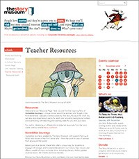 Cover image: Story Museum teaching resources
