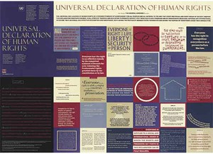 Cover image: Universal Declaration of Human Rights poster